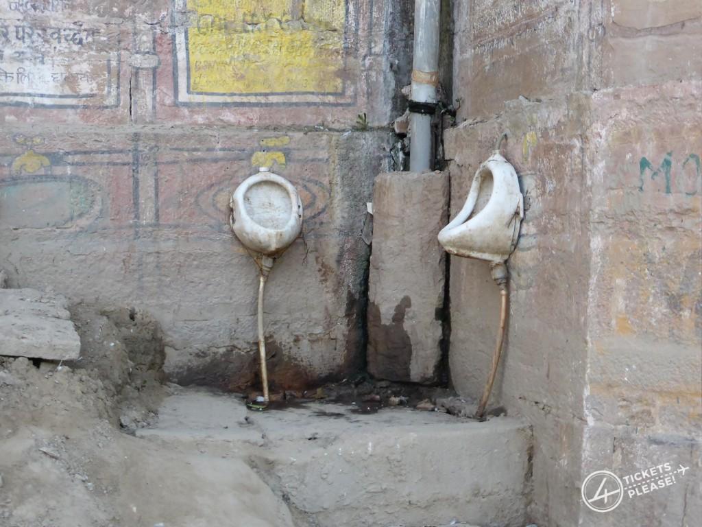 Varanasi, ses ghats, ses toilettes