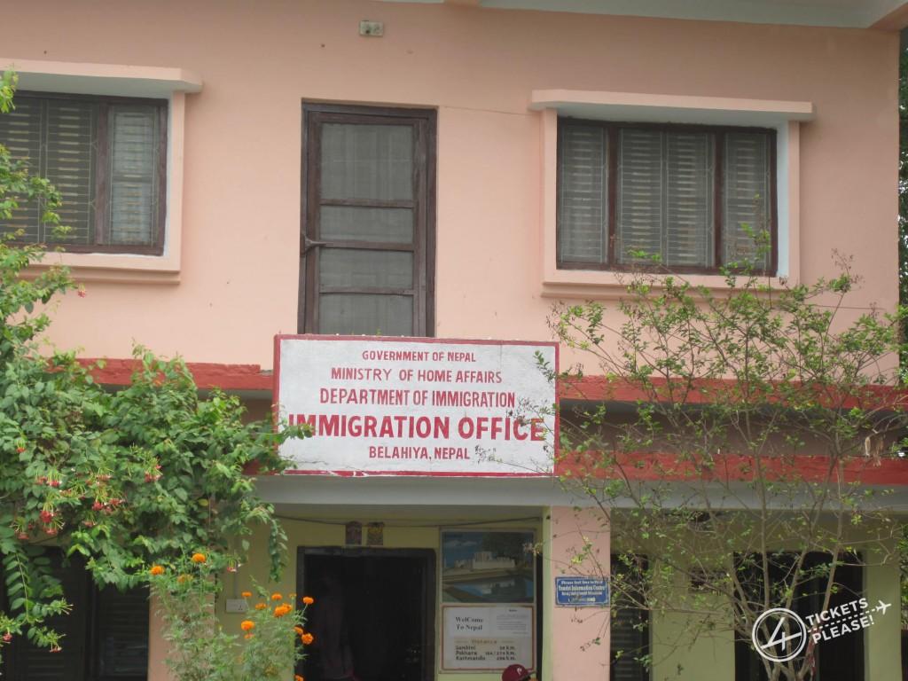 Bureau d'immigration Nepalais