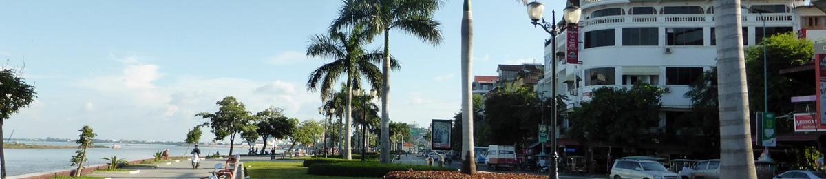 Halte à Phnom Penh