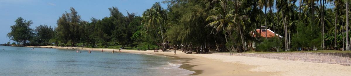 Ile de Phu Coc - Plages