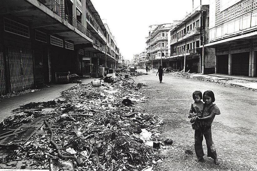Phnom Penh en 1979 à la libération Vietnamienne