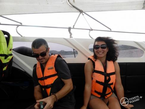 Alex et Nico dans le Speed Boat !