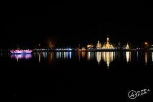 Wat Chong Kham by night
