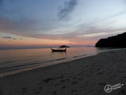Coucher de soleil à Ko Bulon !