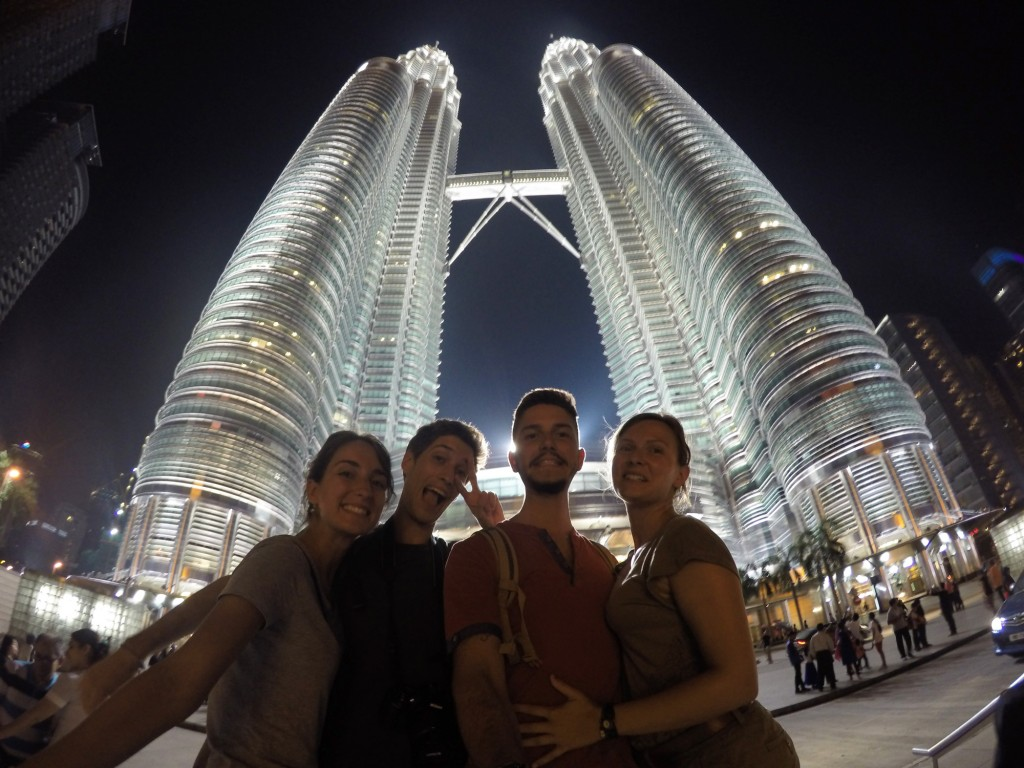 Kuala Lumpur le 09 janvier, les Petronas Towers