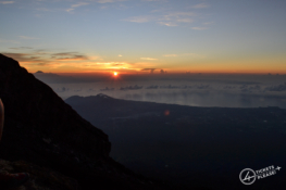 Sommet du volcan