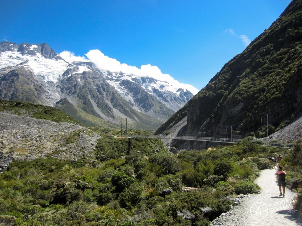 Sentier de la Hooker Valley, Mont Cook