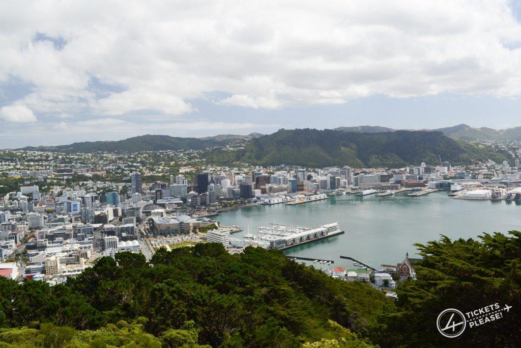 vue panoramique depuis le Mont Victoria