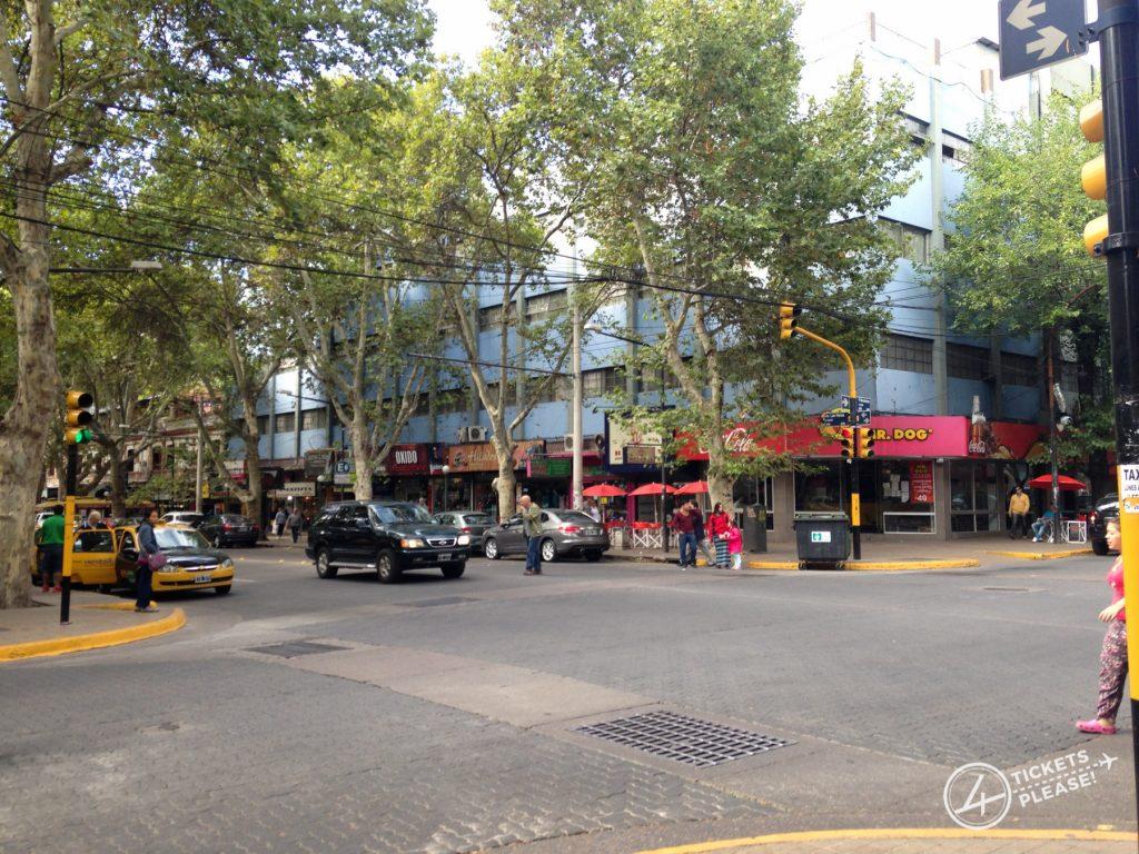 Centre ville de Mendoza