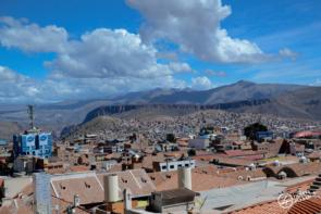 Vue panoramique sur la ville