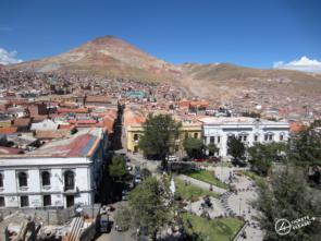 Place centrale et Cerro Rico