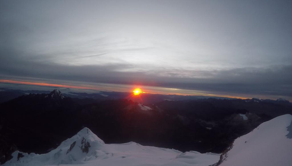 Vue du sommet 6088m