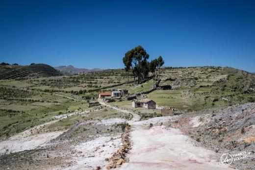 Chemin Inca de l'île