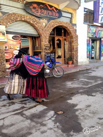 Cholas Boliviennes