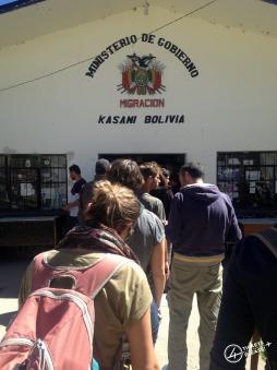 Passage de frontière bolivienne