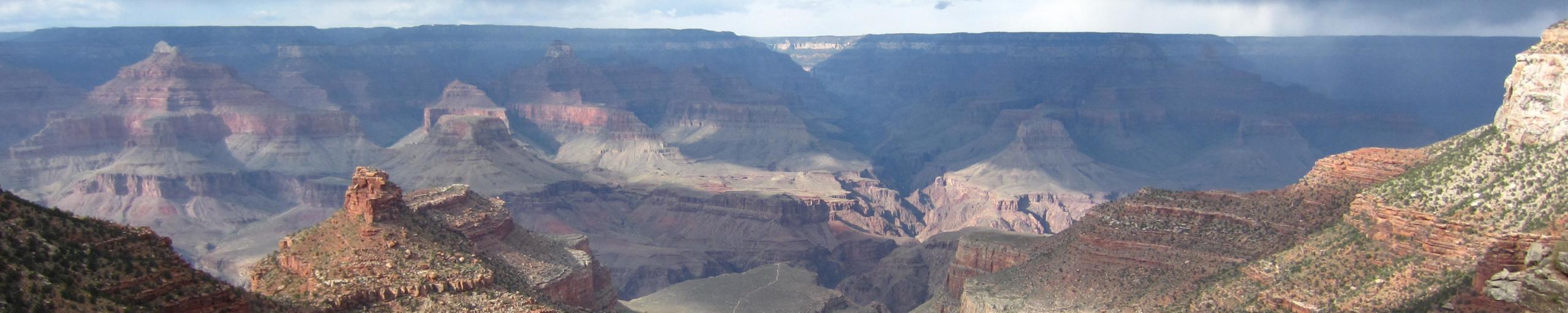 Le Grand Canyon depuis South Rim