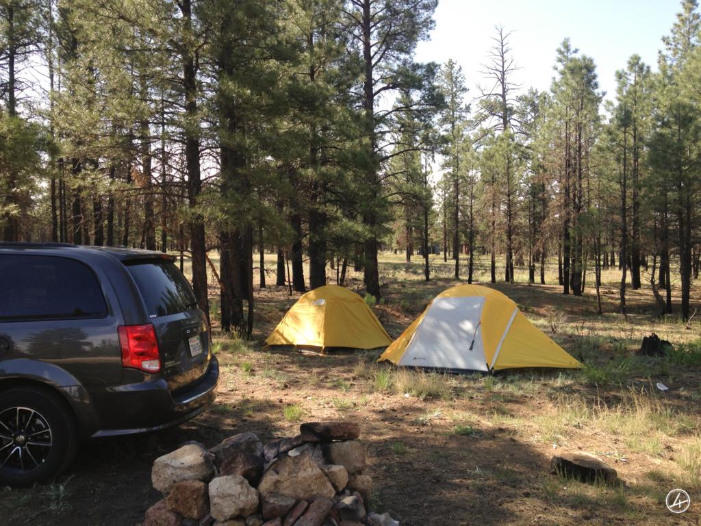 Camping Gratuit Grand Canyon