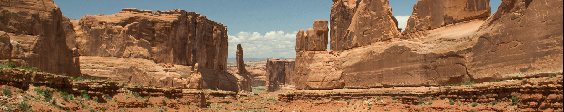 Panorama Arches National Park