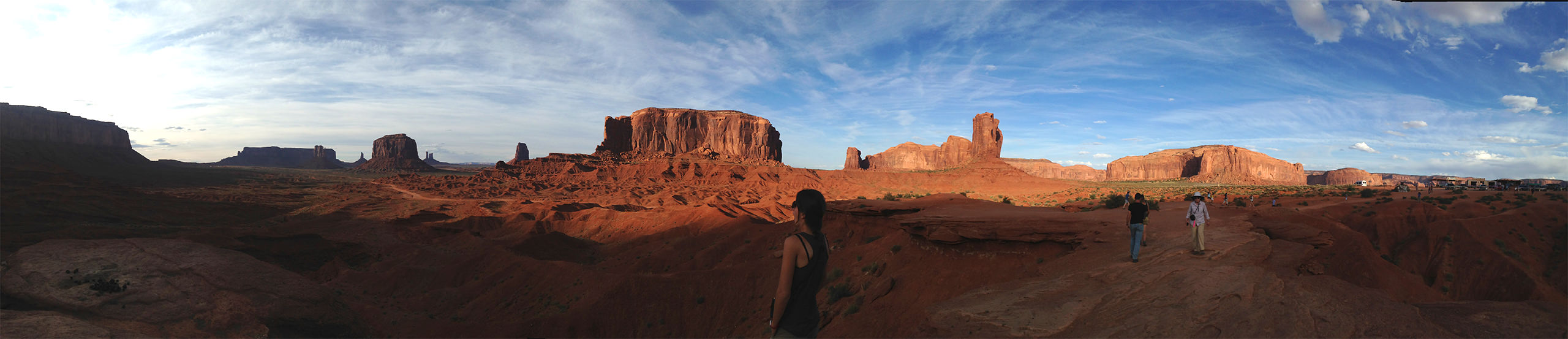 Monument Valley panoramique